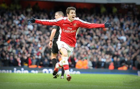 Picture Fabregas, Arsenal, Premier League