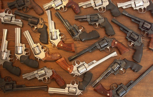 Picture weapons, guns, iron, revolvers