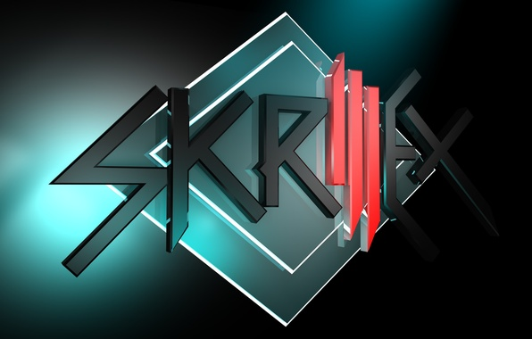 Picture music, logo, logo, house, dubstep, Skrillex
