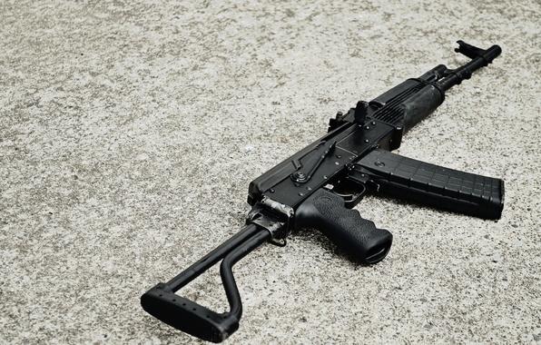 Picture background, the gun, carabiner, Saiga, self-loading