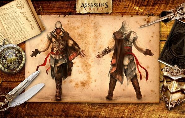 Picture Killer, Ezio, Stealth, Assassin's Creed 2