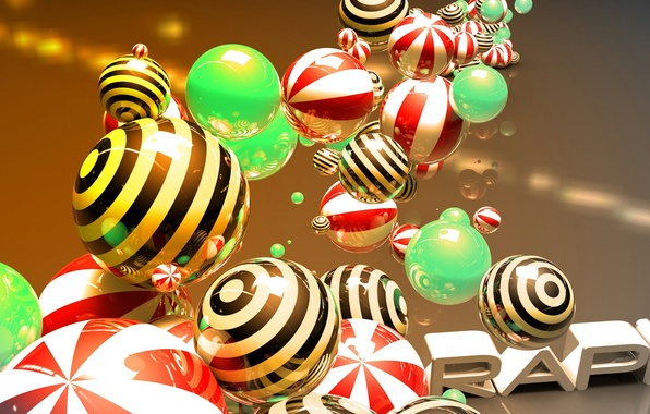 Picture balls, ball, sphere, glossy, Wallpaper art, cinema 4D