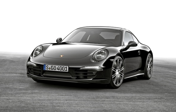 Picture coupe, 911, Porsche, black, Porsche, Black, Coupe, Carrera, 2015