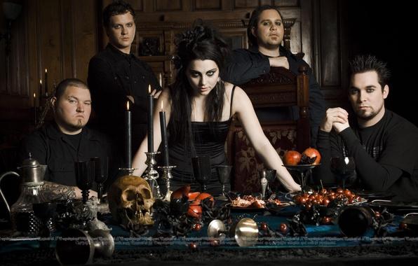 Picture Amy Lee, Evanescence, The Open Door