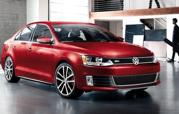 Picture Red, Volkswagen, Machine, Desktop, Jetta, Red, Car, Car, Beautiful, 2011, Wallpapers, Beautiful, Volkswagen, Wallpaper, Automobiles, …
