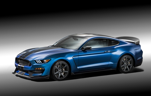 Picture photo, Mustang, Ford, Shelby, Tuning, Blue, Car, 2015, GT350R, Metallic