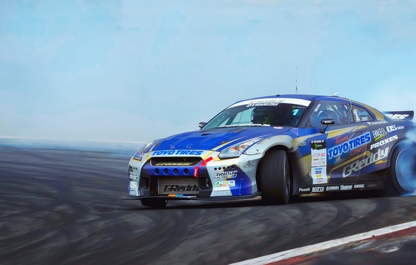 Picture sport, GTR, drift, Nissan, JDM, GRAN TURISMO D1 GRAND PRIX SERIES