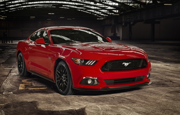 Picture coupe, Mustang, Ford, Mustang, Ford, Coupe, 2015, EU-spec