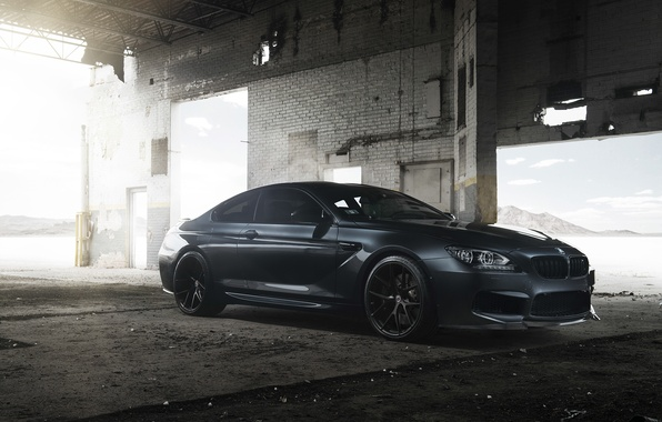 Picture black, tuning, BMW, BMW, black, Coupe, tuning, F13