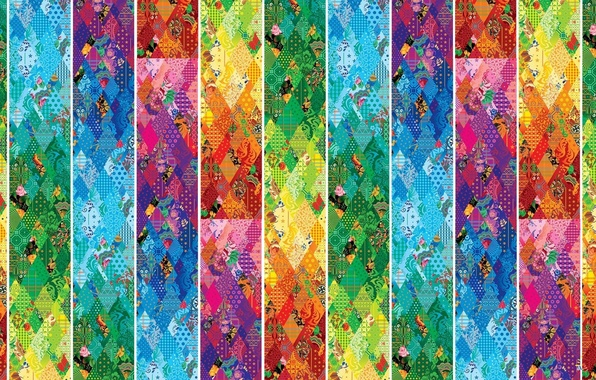 Picture texture, Olympics, ornaments, Sochi, 2014, patchwork