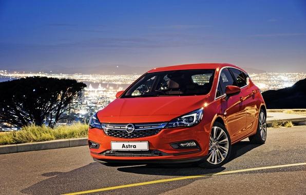 Photo wallpaper Astra, Astra, Opel, Opel