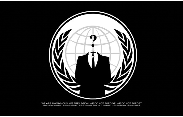 Picture logo, group, logo, anonymous, hack