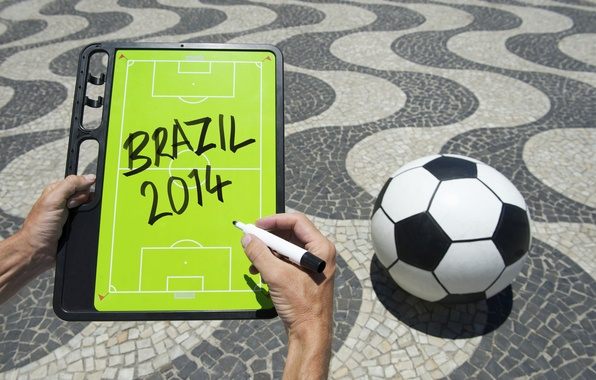 Picture football, ball, World Cup, Brasil, FIFA, 2014