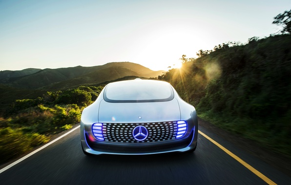 Picture road, Mercedes-Benz, Mercedes, 2015, F 015, Luxury in Motion