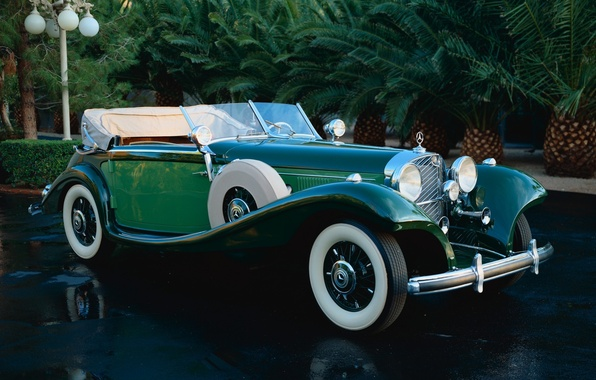 Picture Green, Classic, Mercedes