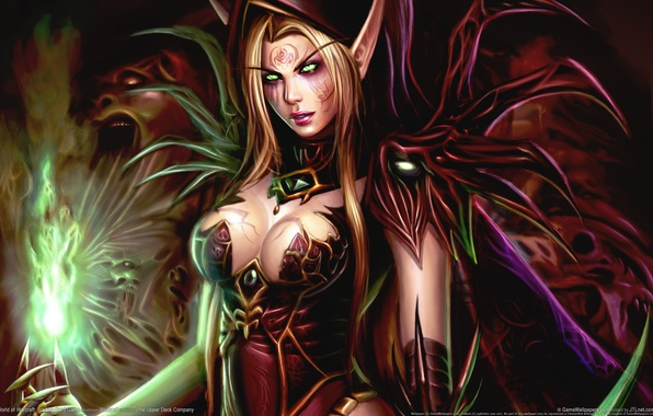 Picture Chest, WoW, World of Warcraft, Breast, Bloody Elf