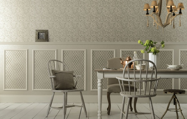 Wallpaper dining room light interior chandelier room for Dining room 640x1136