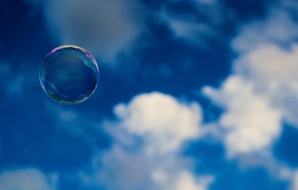 Picture the sky, clouds, background, widescreen, Wallpaper, mood, wallpaper, widescreen, background, full screen, HD wallpapers, bubble, …