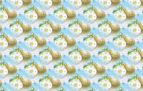 Picture balls, background, holiday, balls, texture, art, New year