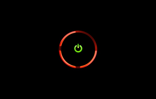 Picture icon, round, black background, food, Red Ring of Death, red ring of death, RRoD, Xbox …