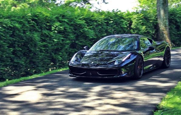 Picture road, Ferrari, Ferrari 458 Italia, Sports car