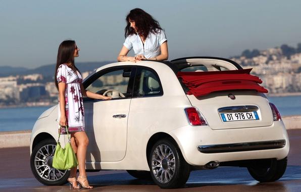 Picture girls, Fiat, 500C
