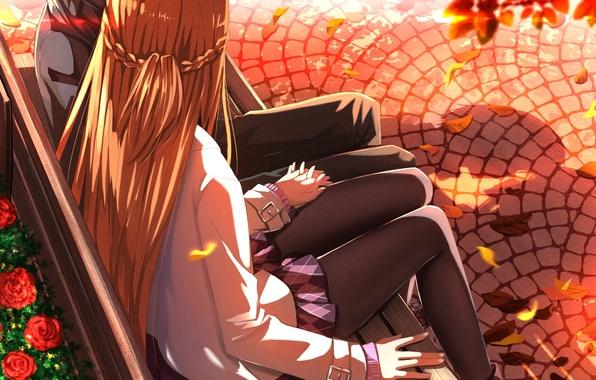 Picture girl, love, anime, shop, friendship, guy, relationship, yuuki asuna
