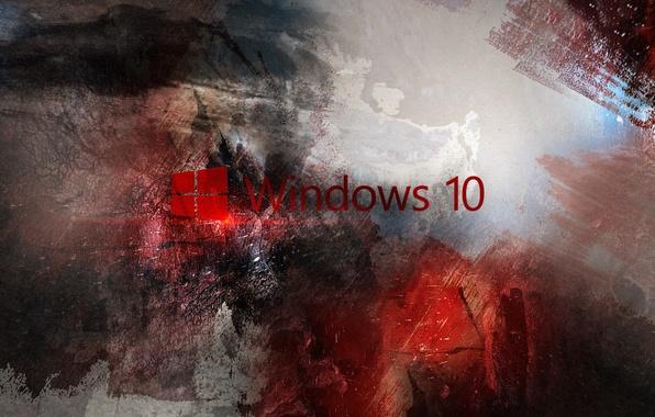 Picture computer, Wallpaper, logo, red, windows, microsoft, logo, hi-tech, Windows, operating system, Microsoft