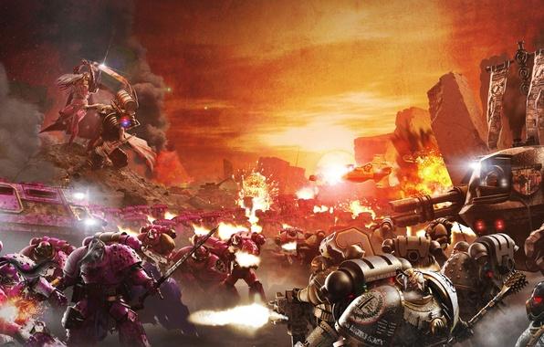 Picture war, sword, armor, warhammer, Mace, space Marines, bolter, dreadnought, Emperor's Children, Emperor's Children, power, heavy, …