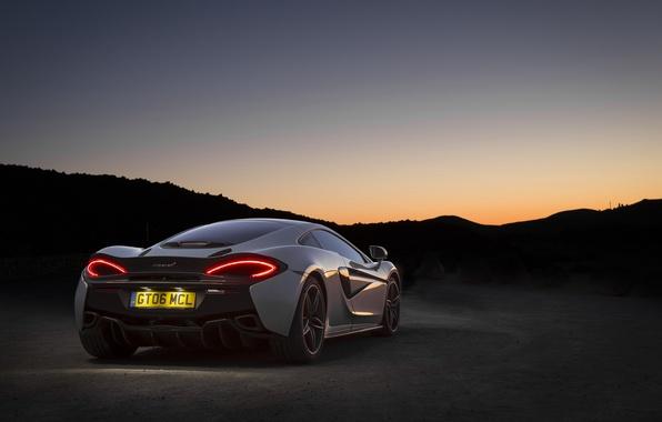 Picture auto, Wallpaper, McLaren, wallpaper, supercar, supercar, auto, back, 570GT, brake light