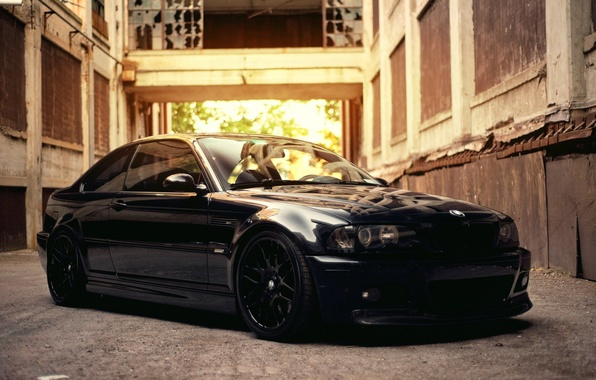 Picture BMW, Black, BMW M3