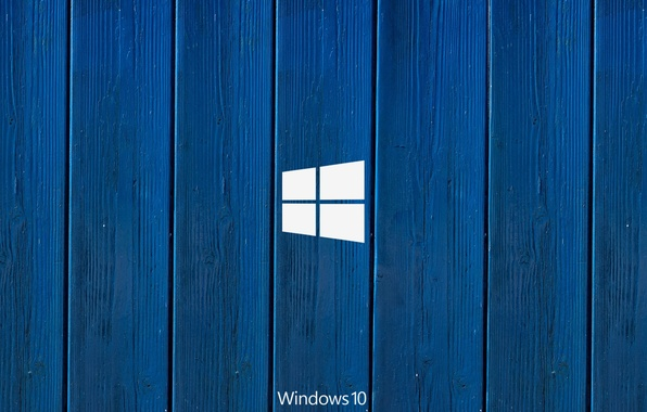 Photo wallpaper windows, microsoft, blue, hi-tech