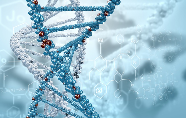 Picture rendering, spiral, formula, DNA