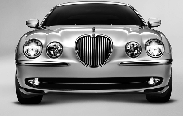 Picture Jaguar, silver, S-Type