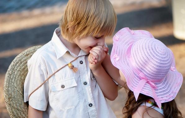 Picture love, children, childhood, romance, child, kiss, love, Valentine, kiss, child, romance, Valentine, childhood, children, cute …