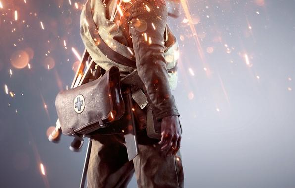 Picture Lights, Military, Electronic Arts, DICE, Equipment, Medic, Frostbite, Battlefield 1, Battlefield 1, Battlefield One