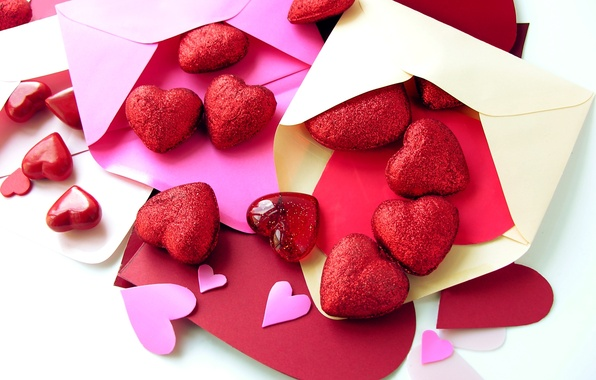 Picture letter, love, holiday, heart, love, i love you, heart, Valentine's Day, letter, holiday