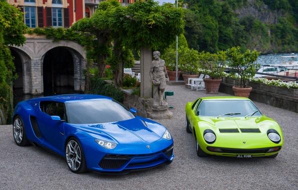 Picture Lamborghini, and, Miura, supercars, Asterion, LPi-910