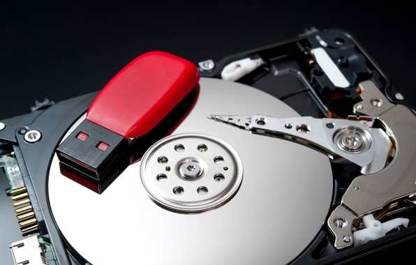 Picture computers, hard disk, pendrive, storage devices