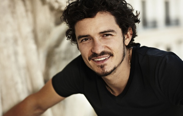 Picture face, smile, actor, male, celebrity, Orlando Bloom, Orlando Bloom