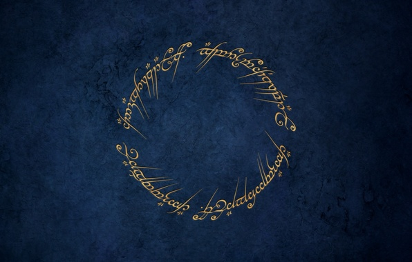 Picture the Lord of the rings, spell, the one ring