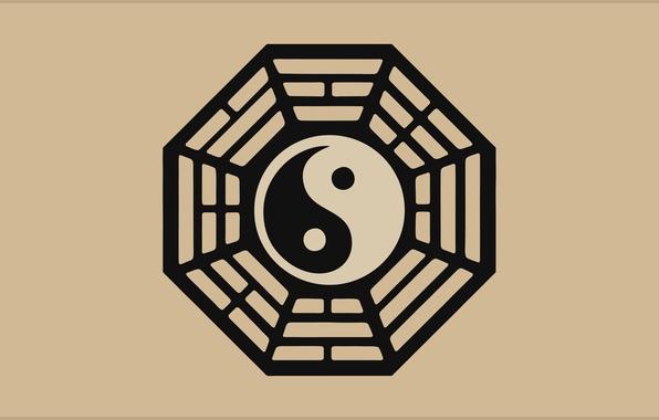 Picture symbol, Yin, Harmony, Yang, Tao, Dao, Harmony, trigrams