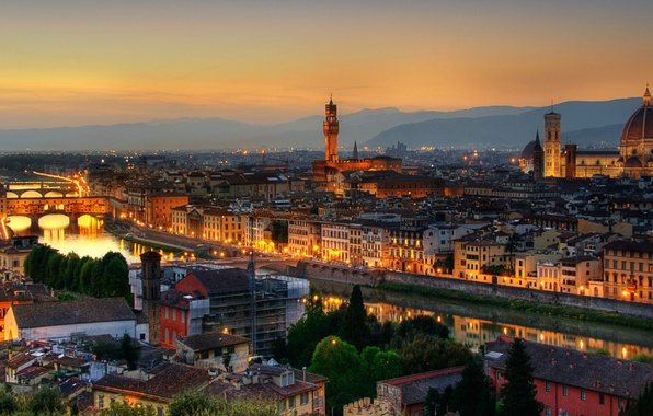 Picture City, Italy, Rome, Florence, Town, Firenze, Architecture, Roman, Empire, Architectural