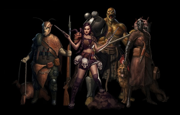 Image result for mutants art fallout