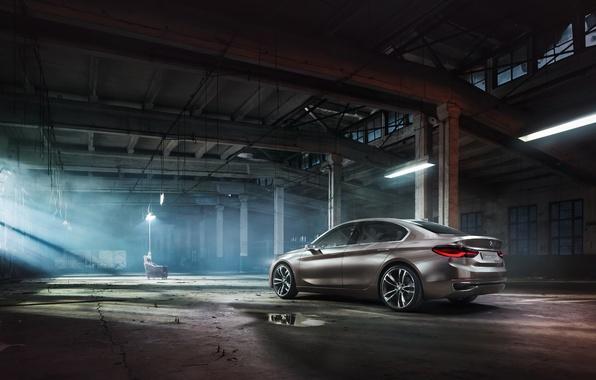 Picture Concept, BMW, BMW, the concept, sedan, Sedan, Compact