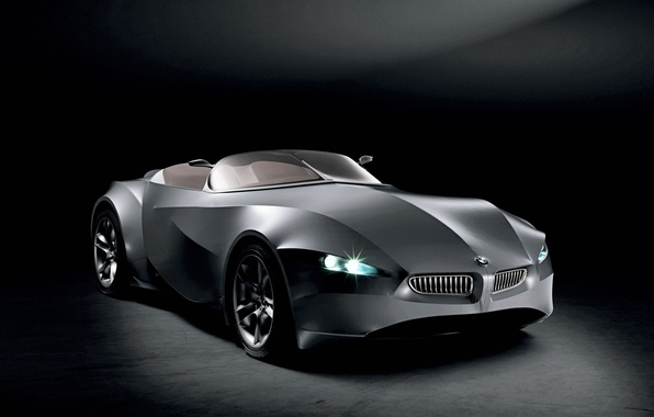 Picture black, concept, BMW, GINA
