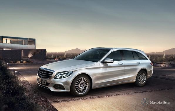 Picture Mercedes-Benz, Mercedes, universal, 2014, C-class, S205