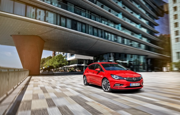 Photo wallpaper Opel, Astra, Opel, 2015, Astra K