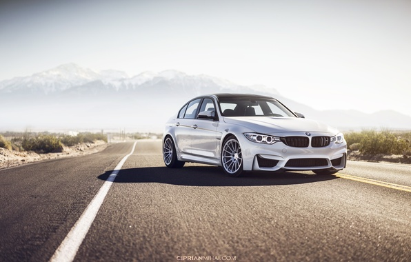 Picture road, mountains, BMW, F80
