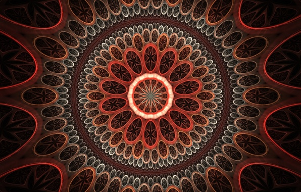 Picture circles, pattern, wallpaper, pattern